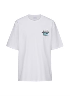 런드리 그래픽 오버핏 티셔츠 (WTA)
