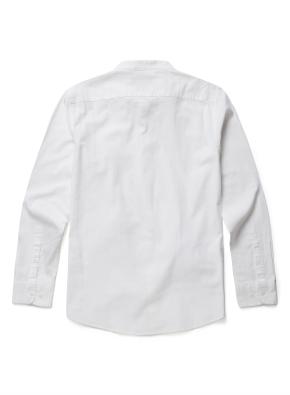 린넨 코튼 헨리넥 셔츠(WT)