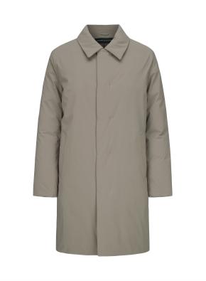 카라 구스다운 코트
