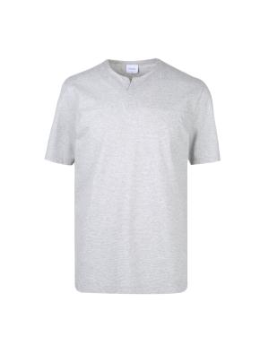 면혼방 넥변형 티셔츠 (MGR)