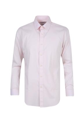 스판 코튼 혼방 솔리드 드레스 셔츠 (PK)
