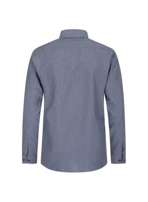 폴리 혼방 솔리드 드레스 셔츠(MNV)