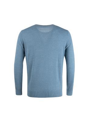 면혼방 멜란지 잔조직 풀오버 스웨터 (BL)