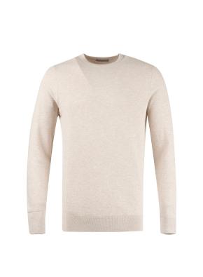 레이온 풀오버 솔리드 스웨터