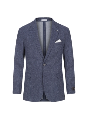 스트레치 프린트 재킷