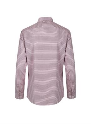 스트레치 가로스트라이프 셔츠 (WN)