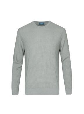 올오버 조직 스웨터 (LGR)
