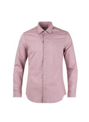 가로 핀스트라이프 세미와이드 셔츠 (WN)