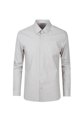 레귤러 올오버 프린트패턴 셔츠 (BE)