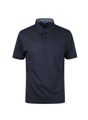 스파클링 믹셀 카라 티셔츠 (NV)