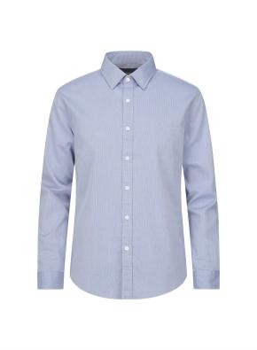 핀 스트라이프 캐주얼 셔츠 (BL)