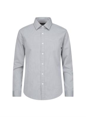 핀 스트라이프 캐주얼 셔츠 (GN)