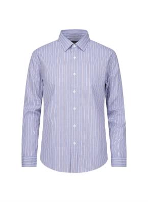 블루 볼드 스트라이프 셔츠 (BL)