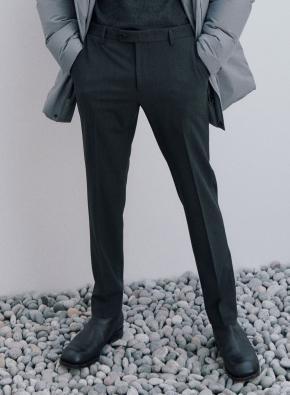 슬림핏 사이드밴딩 커버팬츠 슬랙스