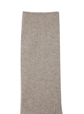 [남여공용] 솔리드 장목 양말 (BE)