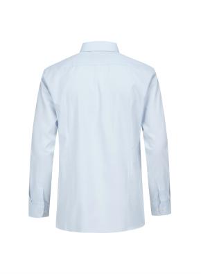 솔리드 세미와이드카라 드레스셔츠 (BL)
