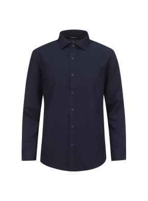 솔리드 세미와이드카라 드레스셔츠 (NV)