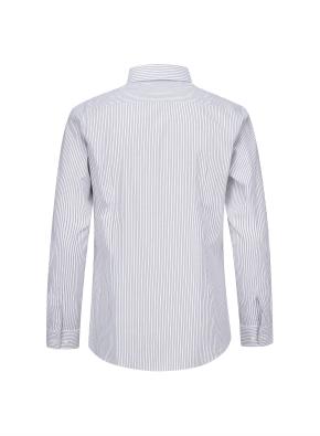 모던 스트라이프 이모션 셔츠 (GR)