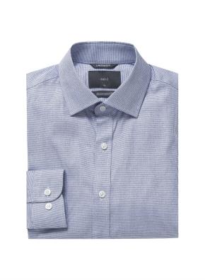 미니 하운드투스 체크 드레스셔츠 (BL)