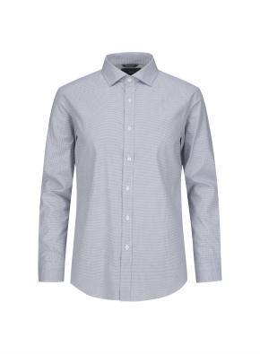미니 하운드투스 체크 드레스셔츠 (GR)