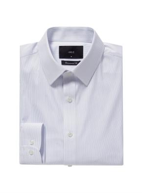 이지케어 이모션 핀스트라이프 셔츠 (BL)