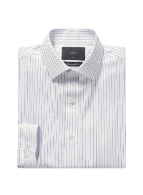 이지케어 이모션 스트라이프 셔츠 (NV)