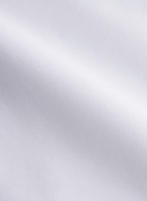화이트 세미와이드카라 반팔셔츠 (WT)