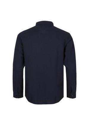 레귤러카라 딥네이비 캐쥬얼셔츠