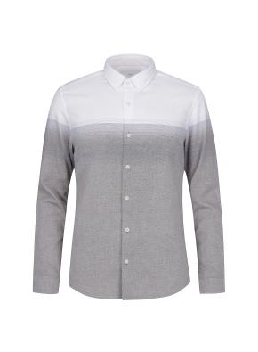 그라데이션 프린트 셔츠(BR)