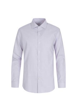 면혼방 도비패턴 드레스 셔츠 (WN)
