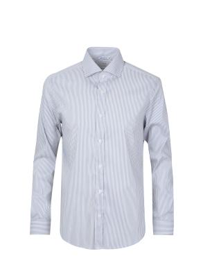 면혼방 소프트터치 드레스 셔츠 (GR)