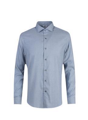 면혼방 세미와이드카라 플란넬 셔츠 (BL)