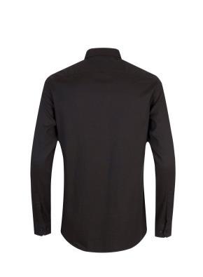 면혼방 세미와이드카라 플란넬 셔츠 (BR)