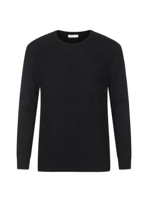 하운드투스 스웨터 풀오버 (BK)