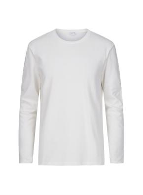 사이드 패널 메쉬 배색 포인트 티셔츠 (WT)