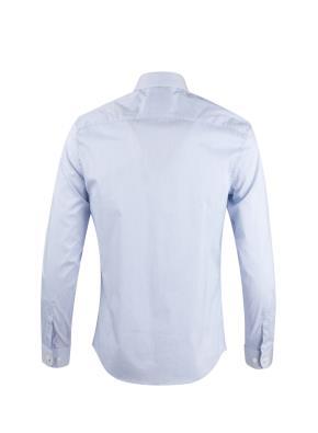 면혼방 레귤러카라 핀스트라이프 드레스 셔츠
