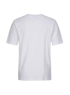 면 프론트 아트웍 반팔 티셔츠 (WT)