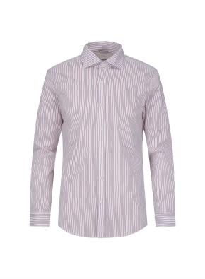 세미와이드카라 핀스트라이프 드레스 셔츠 (PK)