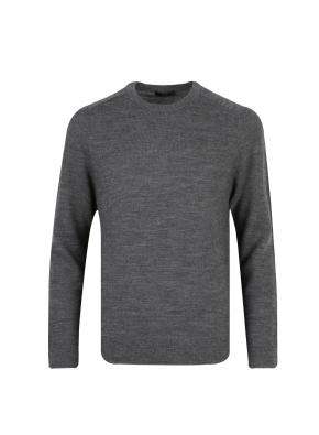 모 100% 텍스쳐드 스웨터 (GR)