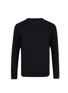 모 100% 텍스쳐드 스웨터 (NV)