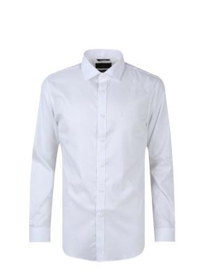 세미와이드카라 드레스 셔츠 (WT)