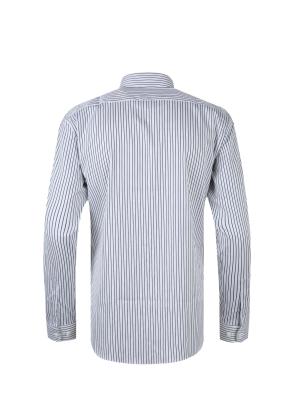 레귤러카라 스트라이프 드레스 셔츠 (NV)
