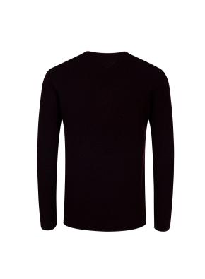 메리노울 100% 텍스쳐드 스웨터 (WN)
