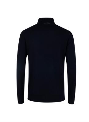 모 100% 원사 터틀넥 스웨터 (NV)