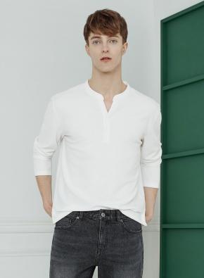넥변형 티셔츠(WH)