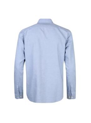 옥스포드 히든버튼 캐쥬얼셔츠(BL)