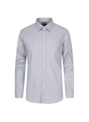 면스판 레귤러카라 하운드투스 드레스셔츠(GR)