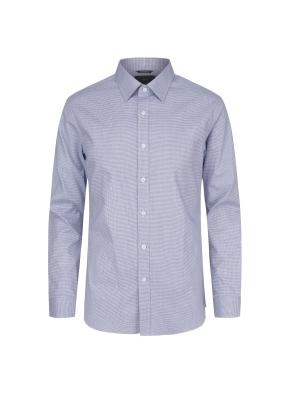 면스판 레귤러카라 하운드투스 드레스셔츠(NV)