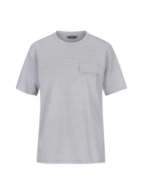 피케원단 세미오버핏 반팔 티셔츠(LGR)