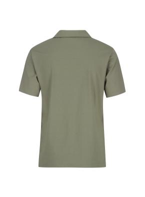 엠보조직 티에리 반팔 티셔츠(KH)